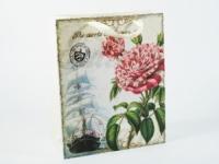 Фото Подарочный пакет Цветок надежды 32 см