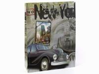 Фото Подарочный пакет Нью-Йорк 43 см