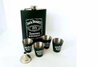 Фото Подарочный набор Фляга Jack Daniсes Black