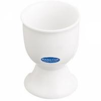 Подставка для яиц фарфоровая белая