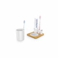 Подставка для зубной пасты и щеток со стаканчиком
