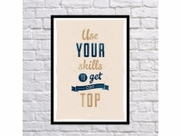 Постер Skill