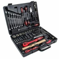Профессиональный набор инструмента 1-2 дюйма и 1-4 дюйма 72 ед. INTERTOOL ET-6073