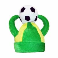 Фото Шапка Футбол с рогами и мячом