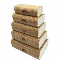 Шкатулка бамбуковая Natural 20х12,5 см