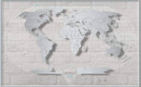 Фото Скретч Карта Мира AIR World