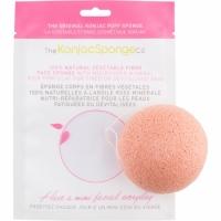 Спонж конняку для лица с розовой глиной