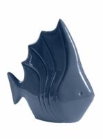 Статуэтка глянцевая Рыбка Морская волна