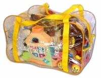 Сумка для игрушек (желтый)