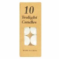 Свечи белые 10 шт.