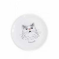 Тарелка Здивований кіт
