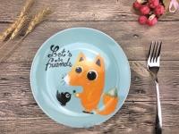 Детская тарелочка Давай дружить