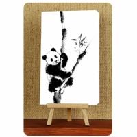 Тетрадь Панда черно-белые зарисовки 1