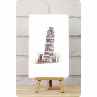 Тетрадь Travel №3 Пизанская Башня