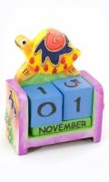 Вечный Календарь Черепашка