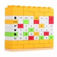 Фото Вечный Календарь PUZZLE Yellow