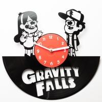 Виниловые часы Gravity Falls