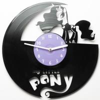 Виниловые часы My little pony