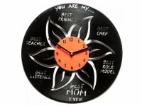 Фото Виниловые часы Наилучшей маме в свете