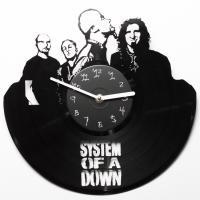 Виниловые часы System of a Down