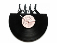 Виниловые часы The Beatles