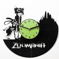 Виниловые часы Zoomania