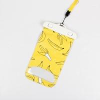 Водонепроницаемый чехол для телефона Banana