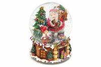 Водяной шар Дед Мороз елка