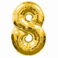 Воздушный шарик цифра 8