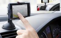 Фото Универсальный автомобильный держатель для телефона на липучке