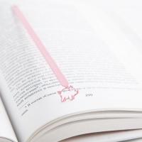 Закладка для книг Pink pig