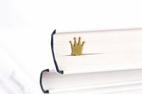 Фото Закладка для книг Золотая корона