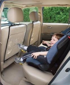 Фото Защита для автомобильного кресла Черная