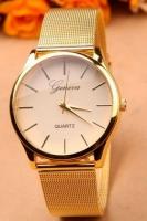 Женские классические часы Geneva Steel