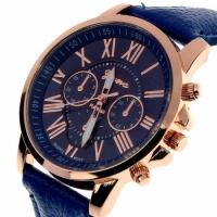 Женские классические часы Geneva Uno Blue