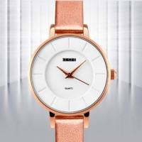 Женские классические часы Skmei Chocolate