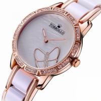 Женские классические часы Torbolo Fashion White